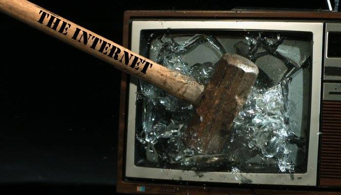 The internet damaging television