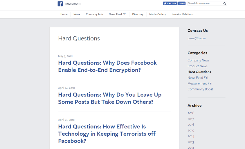 Image 2- Facebook - Hard Questions